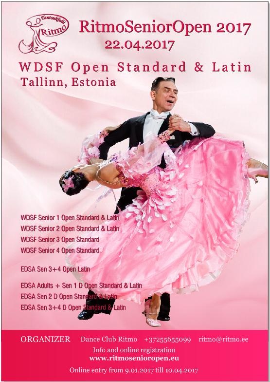 Rahvusvaheline tantsuspordi võistlus Ritmo XXI