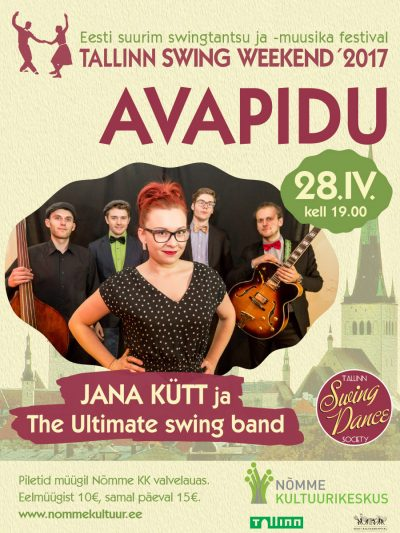 Tallinn Swing Weekend 2017 avapidu