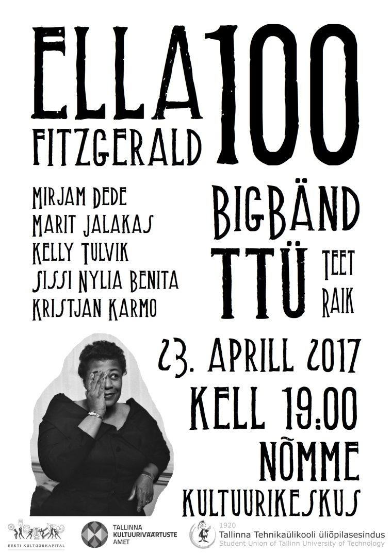 "BigBänd TTÜ kontsert ""Ella 100"""