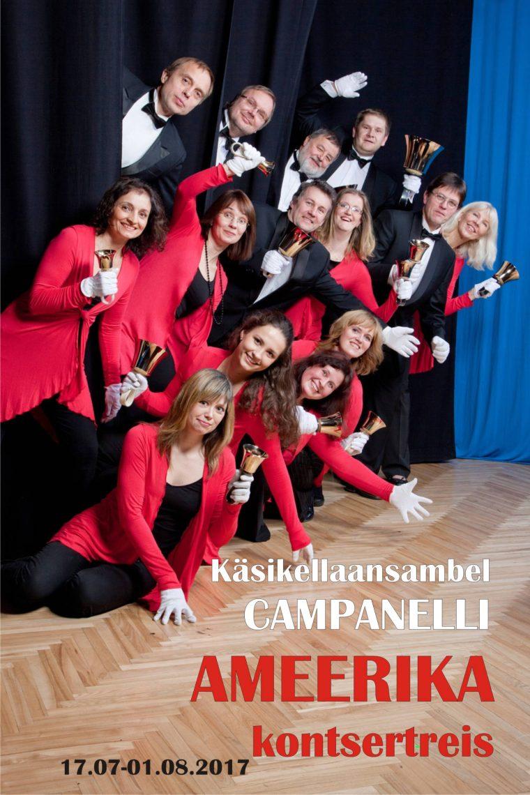 Campanelli sõidab USA-sse kontsertreisile