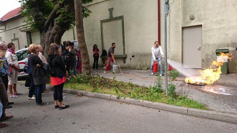 Hooaeg algas kultuurikeskuse töötajatele aktiivse õppusega