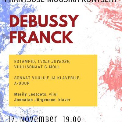 Prantsuse muusika kontsert