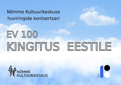 "Kontsertide sari EV100 ""Kingitus Eestile"""