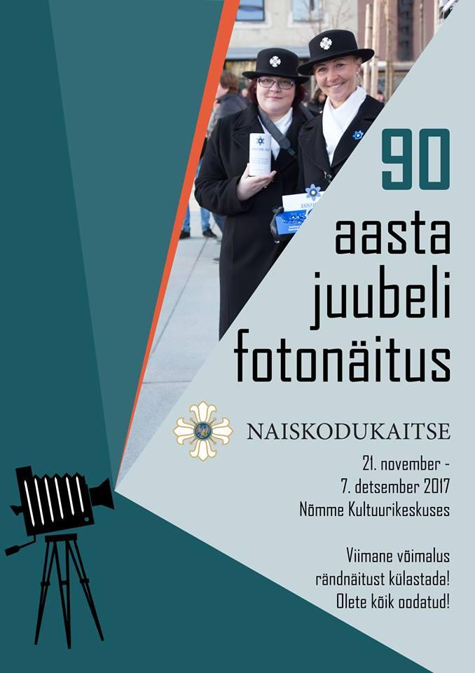 Naiskodukaitse 90. aasta juubeli fotonäitus