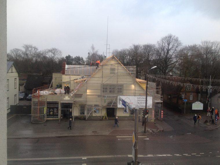 Kultuurikeskuse viilkatuse renoveerimine