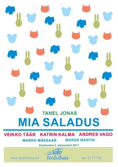 """Lasteetendus """"Mia saladus"""""""
