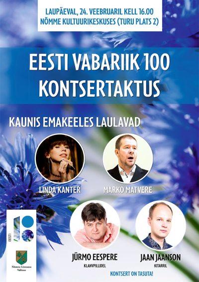 Eesti Vabariik 100 kontsertaktus