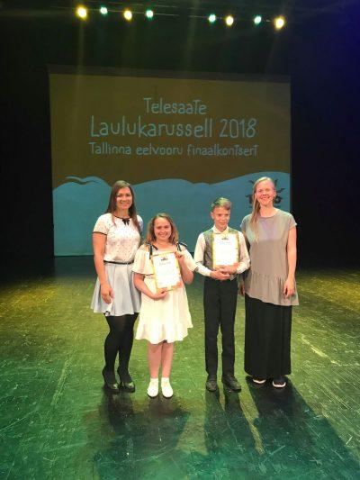 Nõmme noored lauljad osalevad Laulukarusselli televoorus