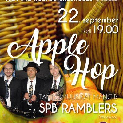 """Swing-jazz tantsuõhtu """"Apple Hop"""""""