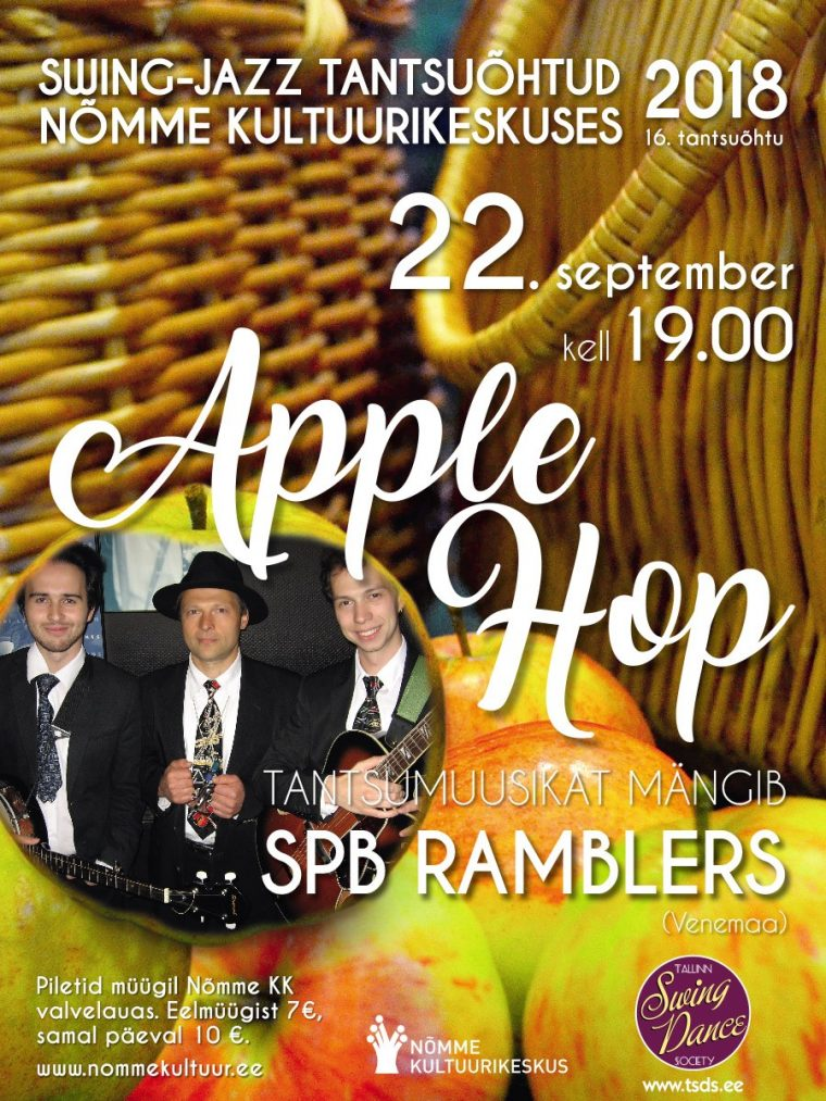 "Swing-jazz tantsuõhtu ""Apple Hop"""