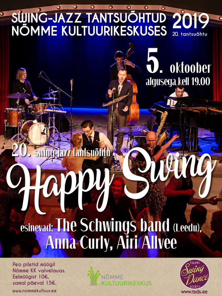 20. swing-jazz tantsuõhtu – Happy Swing