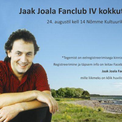 Jaak Joala Fanclub IV kokkutulek
