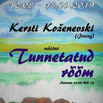 Kersti Koženevski (Josing) näitus Tunnetatud rõõm