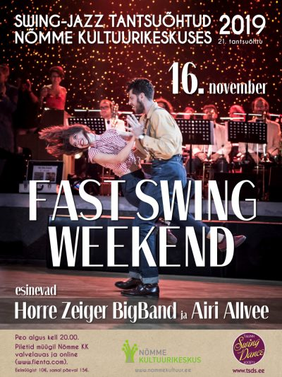 Swing-jazz tantsuõhtu FAST SWING