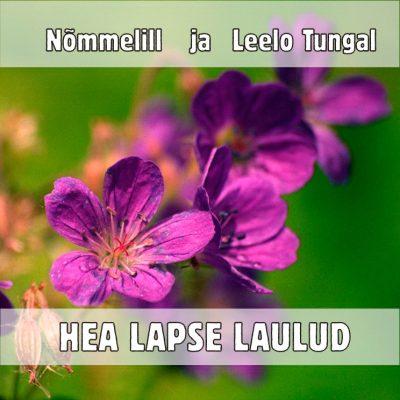 """CD Väikeste tüdrukute koor Nõmmelill """"Hea lapse laulud"""""""