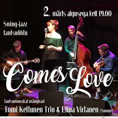 TSDS swing-jazz tantsuõhtu Comes LOVE
