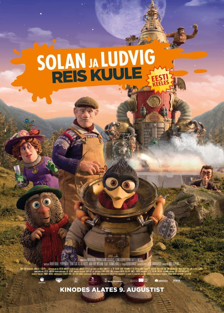 """Kinohommik """"Solan ja Ludvig. Reis Kuule"""""""