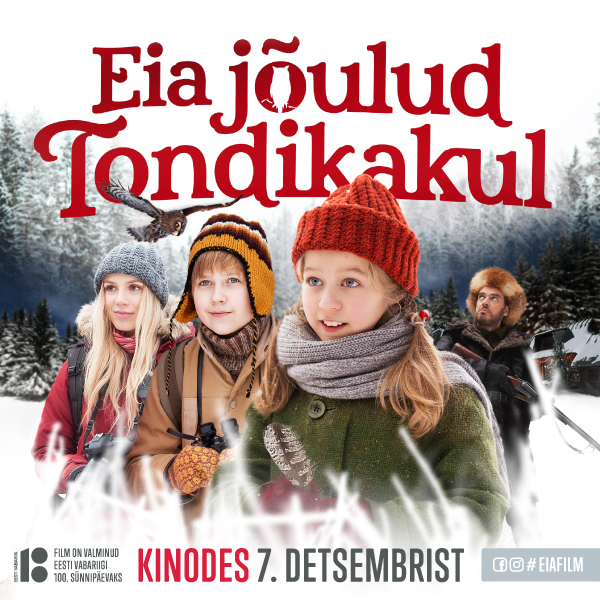 """Kinohommik """"Eia jõulud Tondikakul"""""""