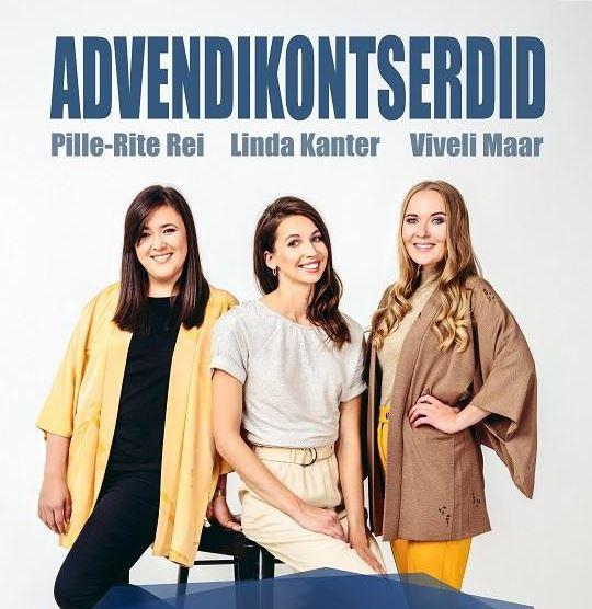 Advendikontserdid – Pille-Rite Rei, Linda Kanter, Viveli Maar
