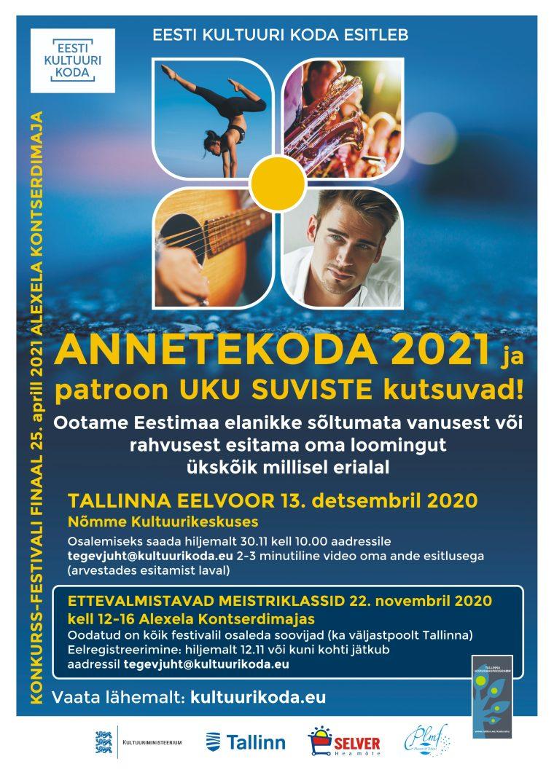 ANNETEKODA 2021 – Tallinna eelvoor
