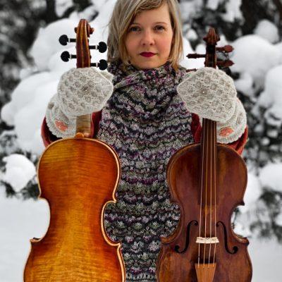 """Mari Targo sooloõhtu """"Kahel viiulil"""""""