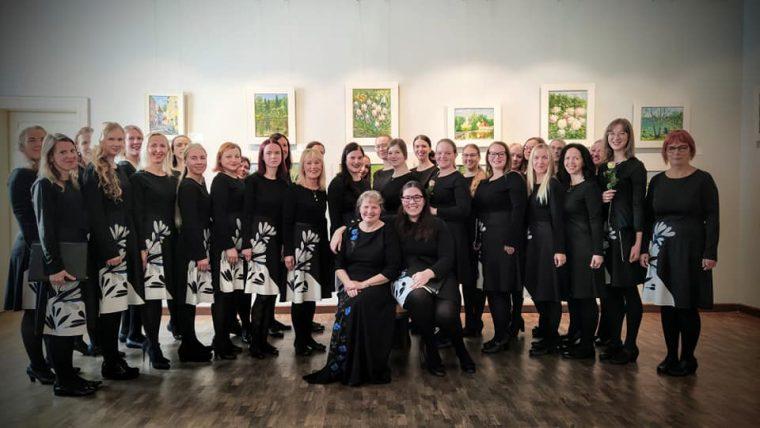 Nõmme Kultuurikeskuse Noorte Naiste koor Kevad pälvis Eesti Naislaulu Seltsi tiitli Aasta naiskoor 2020