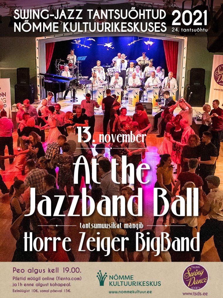 "Swing-jazz tantsuõhtu ""At the Jazzband ball"""