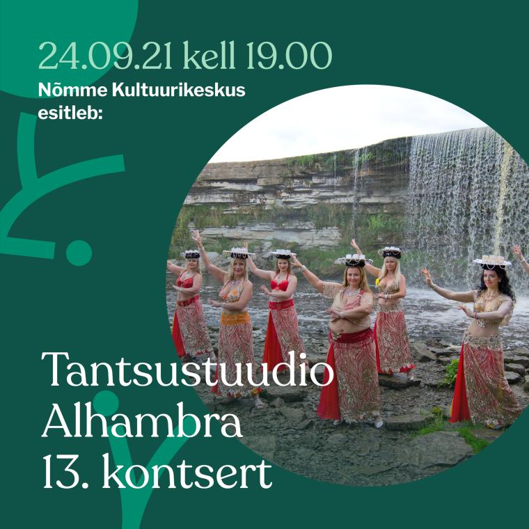 Tantsustuudio Alhambra 13. kontsert