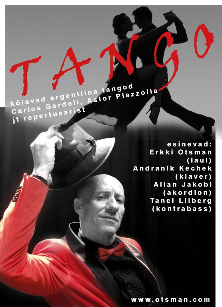 Kontsert-milongaõhtu TANGO
